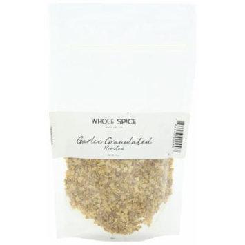 Whole Spice Garlic Granulated Roasted, 4 Ounce