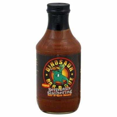 Dinosaur Bar-B-Que Original Sensuous Slathering BBQ Sauce-33.8 Ounce Bottle