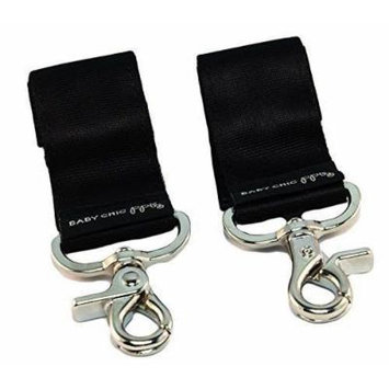 Petunia Pickle Bottom - Valet Stroller Clips - Black