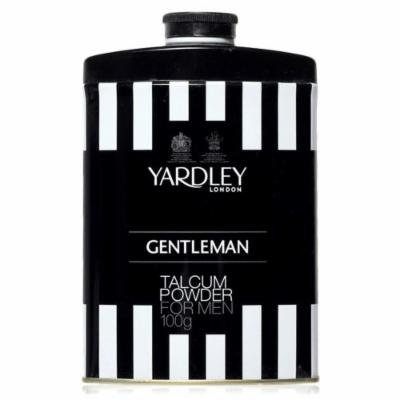 Yardley London Gentleman Deodorizing Talc Talcum Powder for Men 100gm
