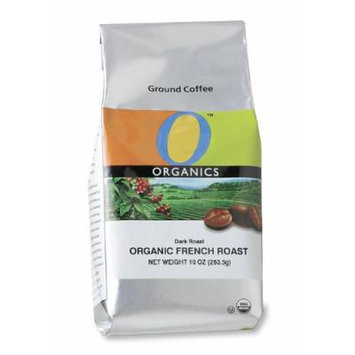 O Organics Dark French Roast Ground Coffee, 10-Ounce Bags (Pack of 3)