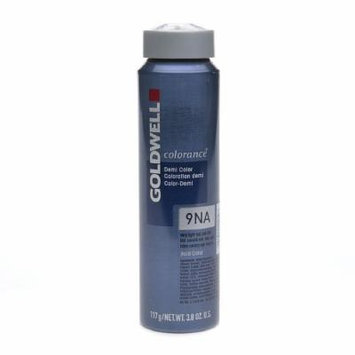 Goldwell Colorance Demi Hair Color, Very Light Natural Ash Blonde 9NA 3.8 oz