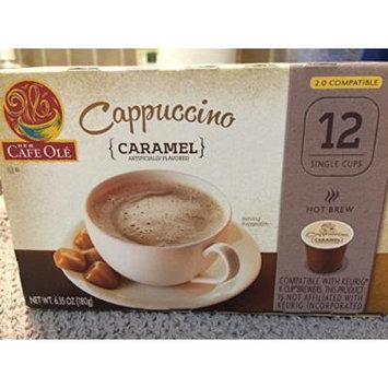 H.E.B. Cafe Ole Cappuccino Caramel Flavored 12 single cups