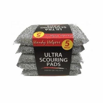 Kitchen Scouring Pads High Quality Dish Washing Supplies Dish Cleaning Pad Set (Silver)