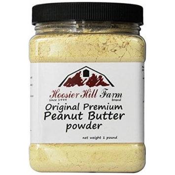 Peanut Butter Powder by Hoosier Hill Farm, 1 lb.