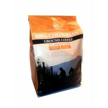 Wellsley Farms 100% Colombian Ground Coffee Medium Roast 40 oz.