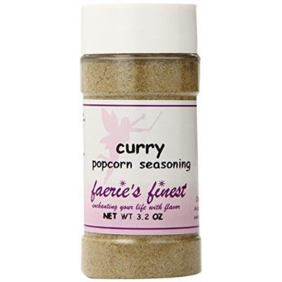 Faeries Finest Popcorn Seasoning, Curry, 3.20 Ounce