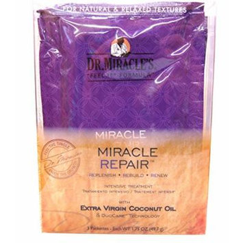 Dr.Miracle's Miracle Repair (3 Packettes-Step 1,Step 2, Step 3)
