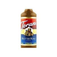 Torani Butter Rum Syrup (1 Single 750 ml bottle)