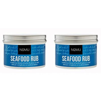 NoMU Seafood Rub 2 Pack