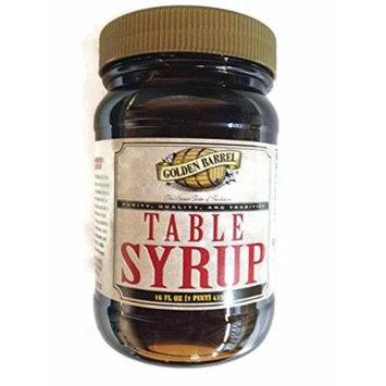 Golden Barrel Table Syrup, 16 oz. Jar (Single)