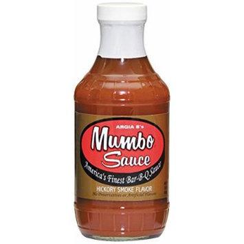 Argia B's Mumbo Sauce Hickory Smoke BBQ Sauce, 18 Ounce (Pack of 6)