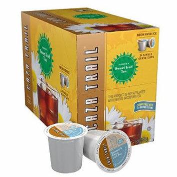 Caza Trail Tea, Summer's Sweet Iced Tea, 24 Single Serve Cups