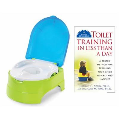 Summer Infant My Fun Potty with Toilet Training in Less Than a Day Guide Book, Blue