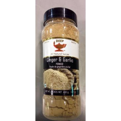 Ginger and Garlic Powder (100% Pure) Jar Pack - 400 Gram