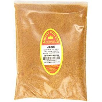 Marshalls Creek Spices Jerk Seasoning Refill, 18 Ounce (Pack of 12)