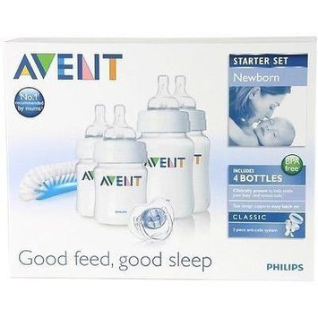 Philips Avent Scd271/00 Newborn Baby Bottle Starter Set / Kit / Pack Brand New Good Gift for Mom and Baby Fast Shipping Ship Worldwide