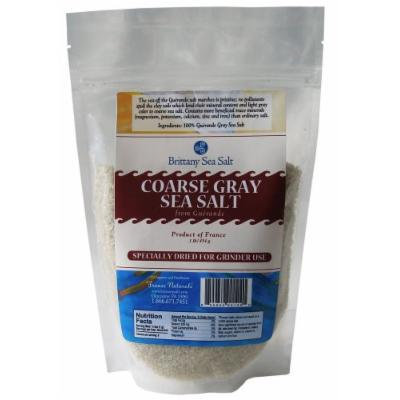Dried Coarse Gray Sea Salt From Guérande 1 Lb Special for Grinders