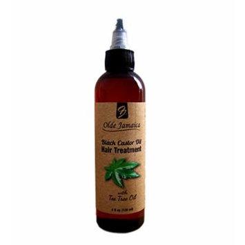Olde Jamaica Black Castor Oil Hair Treatment with tea tree oil - 4oz