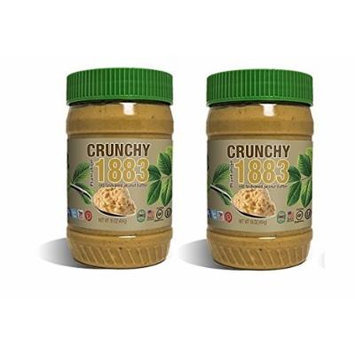 Bell Plantation Crunchy 1883 Peanut Butter 16 Oz 2 Pack