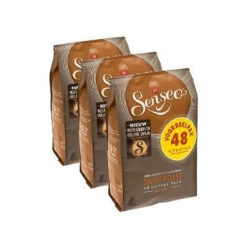 Senseo Coffee Pods - 48 Pods - Different Flavor - Imported From Netherlands (Dark Roast, 144)