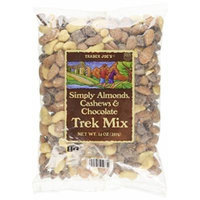 Trader Joes Simply Almonds, Cashews & Chocolate Trek Mix
