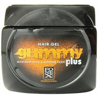 Fonex Gummy Hair Gel, Plus- Maximum Hold & Extreme Look 23.5oz