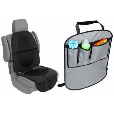 Summer Infant Kidopotamus Elite DuoMat Car Seat Protector with Kick Guard Back Seat Protectors