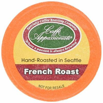 Caffe Appassionato Coffee for Keurig K-Cup Brewers, French Roast, 96 Count