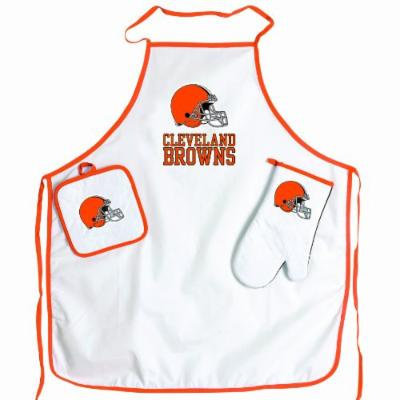 NFL Cleveland Browns BBQ Set