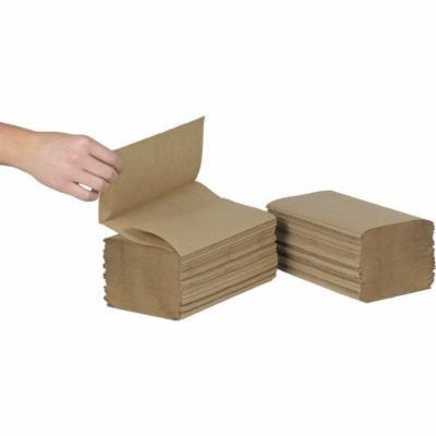 Advantage Kraft Bulk Single-Fold Towel (TTKSF) Category: Singlefold Paper Towels