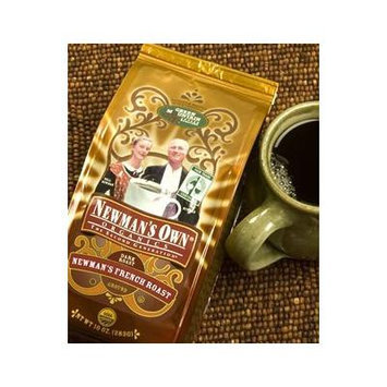 Newman's Own Organics Organic Coffee Newman's French Roast 10 oz. Ground (Pack of 5)