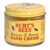 Burt's Bees Beeswax and Banana Hand Creme, 2-Ounce Jar