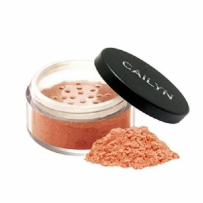 Cailyn Cosmetics Deluxe Mineral Blush Powder, Peach Pink, 0.3 Ounce