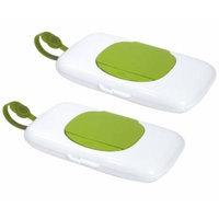 OXO Tot On-the-Go Wipes Dispenser, 2 Pack, Green