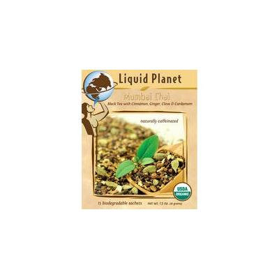 Liquid Planet Organic Tea Mumbai Chai 100ct Bulk Sachet