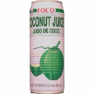 FOCO Coconut Juice, 17.60 Ounce (Pack of 24)