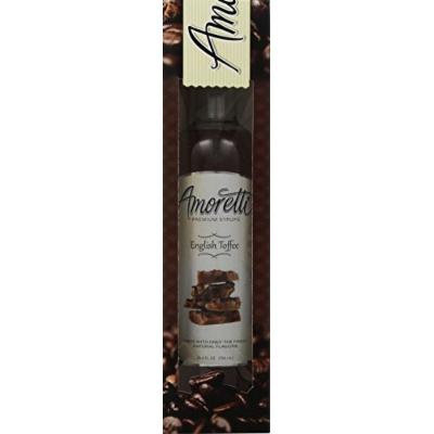 Amoretti Premium English Toffee Syrup 750ml 3 Pack