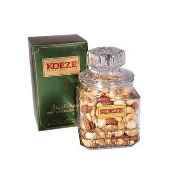 Mixed Nuts with Macadamias 20 oz. Decanter