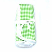 Infantissima Changing Pad, Gingham Apple Green