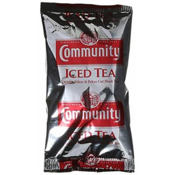 Community Coffee Pre-Measured Filter Packs Iced Tea, 24 Count