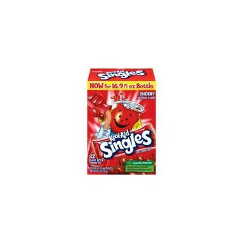 Kool-Aid Cherry Drink Mix Singles, 12ct(Case of 2)