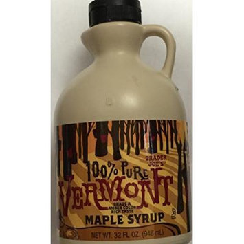 Trader Joe's 100% Pure Vermont Maple Syrup 32 fl oz. (1 Pack)