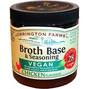 Orrington Farms Vegan Broth Base & Seasoning, Chicken Flavored, 6-Ounce (Pack of 6)