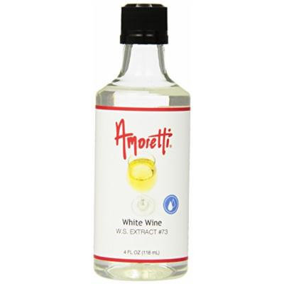 Amoretti White Wine Extract, 4 Fluid Ounce