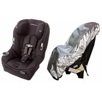 Maxi Cosi Pria 85 Convertible Car Seat with Sun Shade Cover, Black