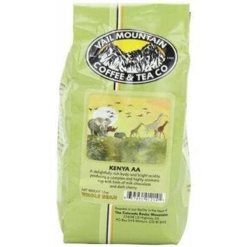 Vail Mountain Coffee & Tea Kenya AA Whole Bean Coffee, 12-Ounce Bags (Pack of 3)