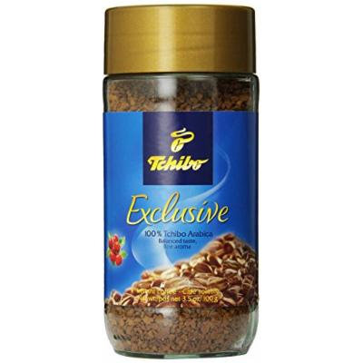Tchibo Exclusive Arabica Instant Coffee, 3.5 Ounce