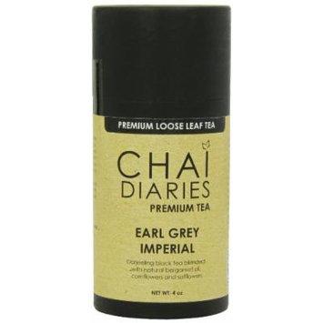 Chai Diaries Earl Grey Imperial Black Tea, 4 Ounce