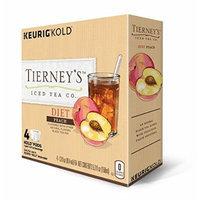 Keurig Tierney's Iced Tea Diet Peach (Box of 4)